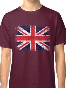 Vintage UK British Flag design Classic T-Shirt
