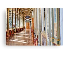 Arched Hall Hermitage Museum Canvas Print