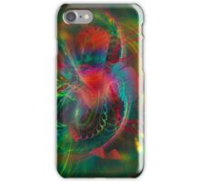 Jungle  - colorful modern digital abstract art prints  iPhone Case/Skin