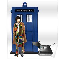 The Doctor and K-9 Poster