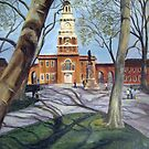 Independence Hall, Old City Philadelphia by Heather Rinehart