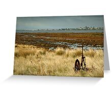 Beacon Point, view to Queenscliff Greeting Card