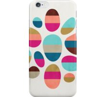 Color-Blocked Pebbles #2 iPhone Case/Skin