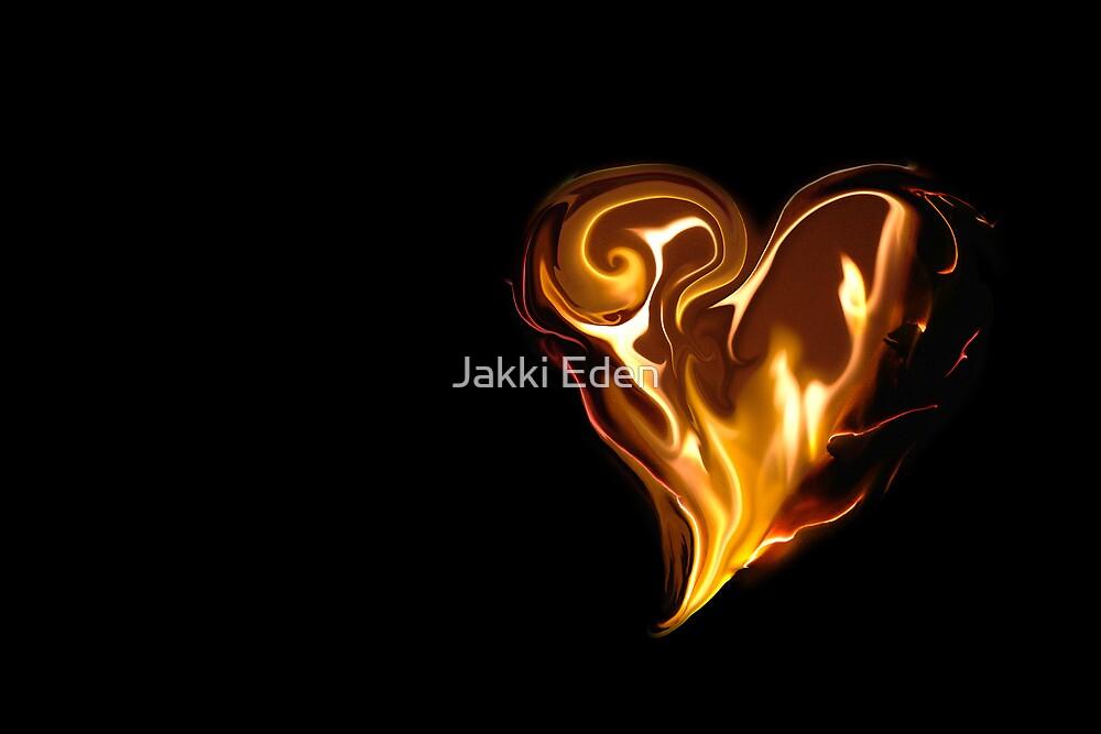 Blazing Heart by Jacqueline Eden