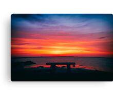 Limited Seating Canvas Print