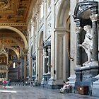 The Basilica di Santa Maria Maggiore by Lucinda Walter