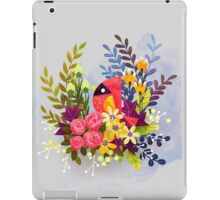 Pretty Cardinal iPad Case/Skin