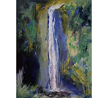 Waterfall Painting Photographic Print