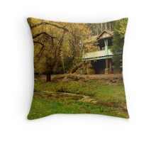 Autumn, Central Springs, Daylesford Throw Pillow
