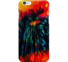 Unexpected stylised vision iPhone Case/Skin