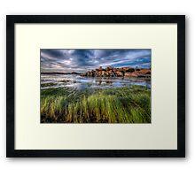 Green Grass Sweep 2 Framed Print