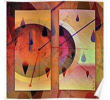 Non-sense space between split time Poster