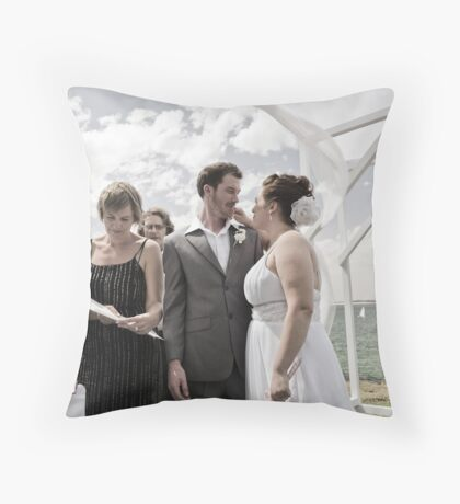 Signed papers Throw Pillow