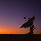 Radio Telescope #1 by Mike Norton