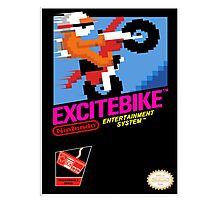 EXCITEBIKE NES Box cover Photographic Print