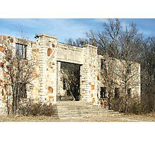 Abandoned Recreation Center Photographic Print