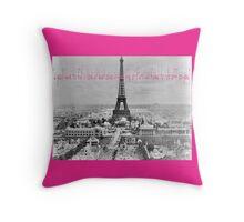 Parisian Love Throw Pillow