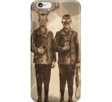 Vintage Technology Fades Away iPhone Case/Skin