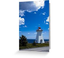 Port Medway Nova Scotia Greeting Card