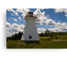 Port Medway Nova Scotia Canvas Print