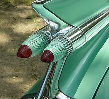 1959 Caddy Tail Lights by RoyboyProds