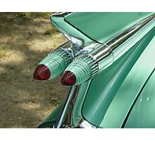 1959 Caddy Tail Lights Photographic Print