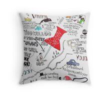 Paper Towns Throw Pillow