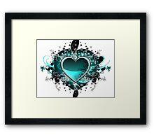 Green Hearth Framed Print
