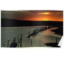 Wet Lands,Portarligton,Bellarine Peninsula Poster