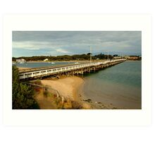 Barwon Heads Bridge,Bellarine Peninsula Art Print