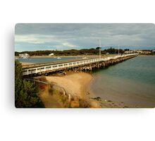 Barwon Heads Bridge,Bellarine Peninsula Canvas Print