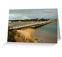 Barwon Heads Bridge,Bellarine Peninsula Greeting Card
