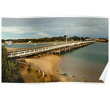 Barwon Heads Bridge,Bellarine Peninsula Poster