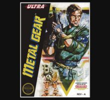 METAL GEAR NES Box cover by ruter
