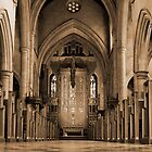Sepia Cathedral by Andrew Dickman