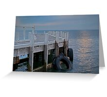 Pt Richards Jetty, Bellarine Peninsula Greeting Card
