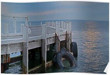 Pt Richards Jetty, Bellarine Peninsula by Joe Mortelliti