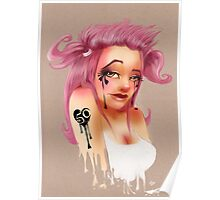 Girl 50 | Pigtails Poster