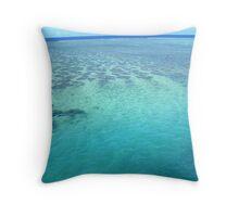 Fijian waters Throw Pillow