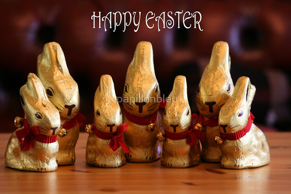 Happy Easter Bunnies by Pamela Jayne Smith