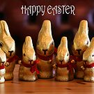 Happy Easter Bunnies by Pamela Jayne Smith