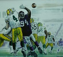 Favre vs Vikes by Dan Wagner