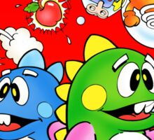 BUBBLE BOBBLE NES Box cover Sticker
