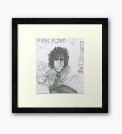 The Piper At The Gates Of Dawn Framed Print