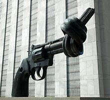 Twisted Handgun at the UN by blackadder
