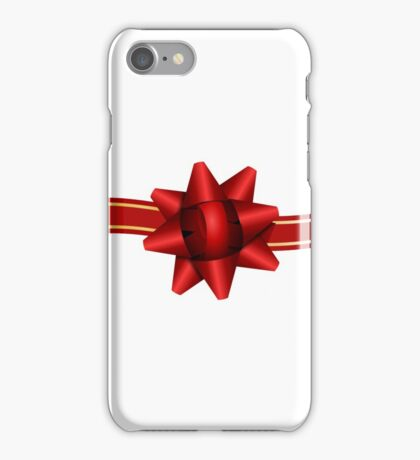 Red Ribbon Gift iPhone 6 Cover iPhone Case/Skin