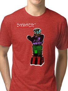 the robot t-shirt Tri-blend T-Shirt