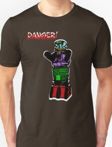 the robot t-shirt Unisex T-Shirt