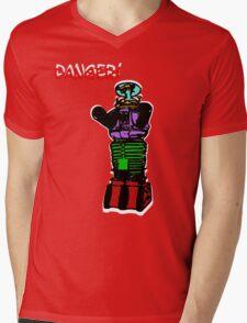 the robot t-shirt Mens V-Neck T-Shirt