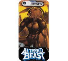 Altered Beast Genesis Megadrive Sega Box Cover iPhone Case/Skin